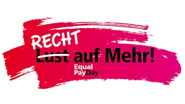 Offizielles Logo der DGB Gewerkschaften für den Equal Pay Day