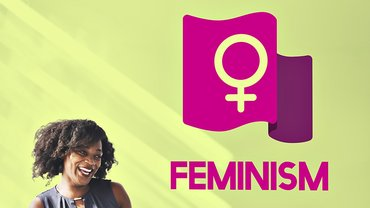 Feministin Aktivistin Transparent Feminismus