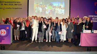 Die 4. ver.di Bundesfrauenkonferenz 2015 in Berlin