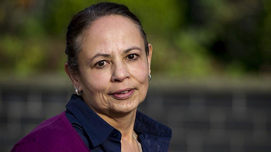 Mathilde Meyer, Vorsitzende des Landesfrauenrats in Hessen von 2015-2019