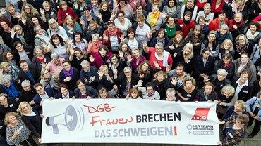Die DGB Frauen brechen das Schweigen!