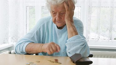 Frau Rente Altersarmut