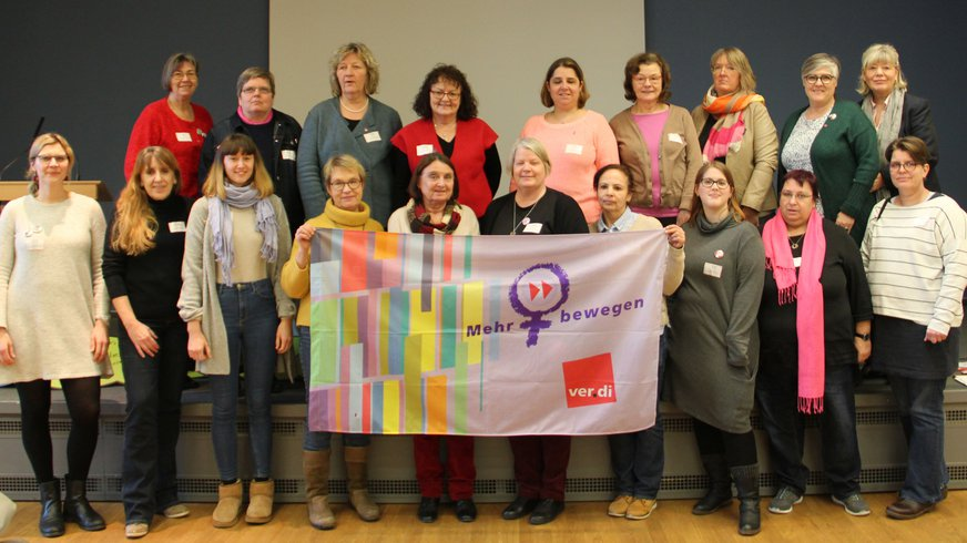 Gruppenfoto Landesfrauenrat 2019-2023