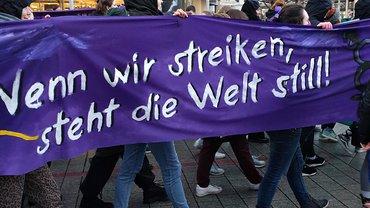Frauen Streik Frauen*Streik Aktion 08. März 2019