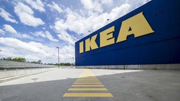 IKEA Parkplatz Lager Logo